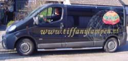Tiffany Lampen bus